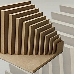 Raw MDF and Particleboard